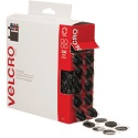 3/4 in Black Velcro Tape Combo - Dots