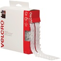 3/4 in x 15' White Velcro Tape Combo - Strips