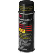 3M Repositionable Spray Adhesive 75 Aerosol Can Clear, 16 oz