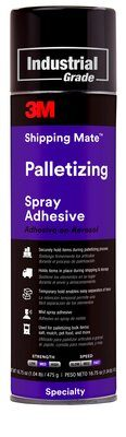 3M Shipping-Mate Palletizing Adhesive, 24 oz, 12 per case