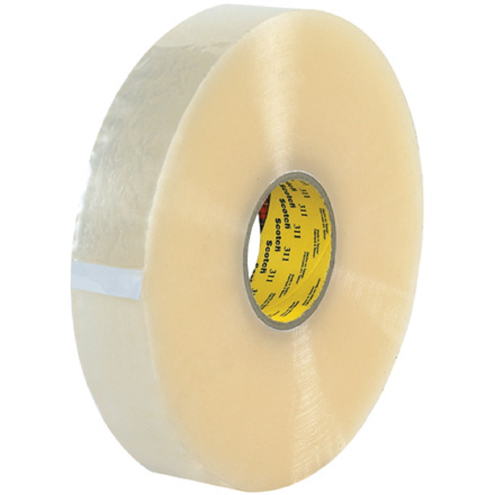 Image of 2 in x 1000 yds 311 + Scotch High Tack Box Sealing Tape, 6/case