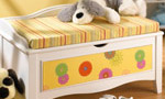 Child Bench Toy Box