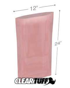12x24 4mil Antistatic Poly Bags