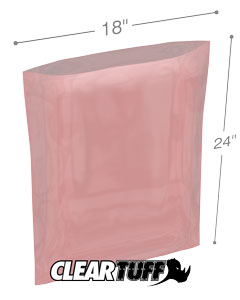 18x24 4mil Antistatic Poly Bags