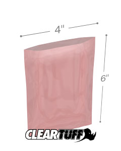 4x6 2mil Antistatic Poly Bags