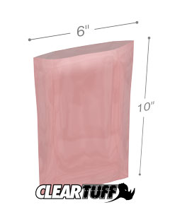 6x10 4mil Antistatic Poly Bags