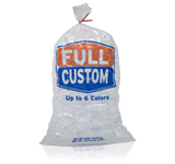 customplain top ice bags