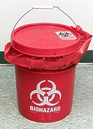 Biohazard Pail