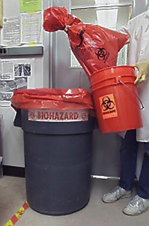 Disposing of Biohazard Waste