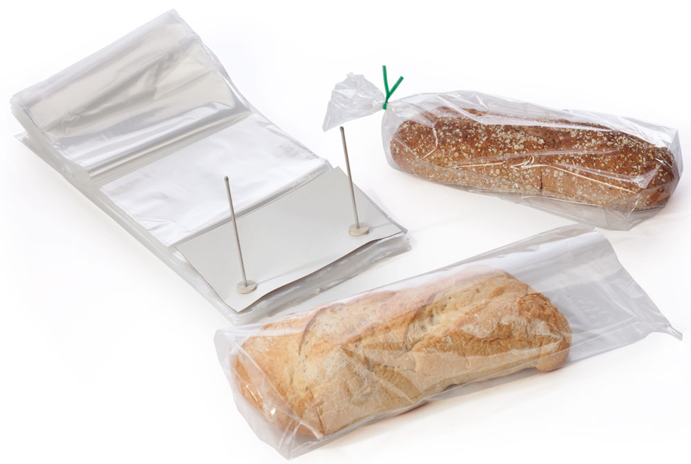 """12"""" x 19"""" + 4"""" Wicketed Bread Bags"""