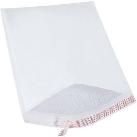 White Self-Seal Bubble Mailers