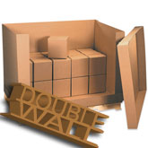 58 x 41 x 45 350 lb Doublewall Corrugated Boxes