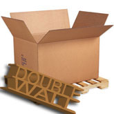 41 x 28 3/4 x 25 1/2 350 lb Doublewall Corrugated Boxes