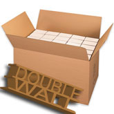 36 x 22 x 22 350 lb Doublewall Corrugated Boxes