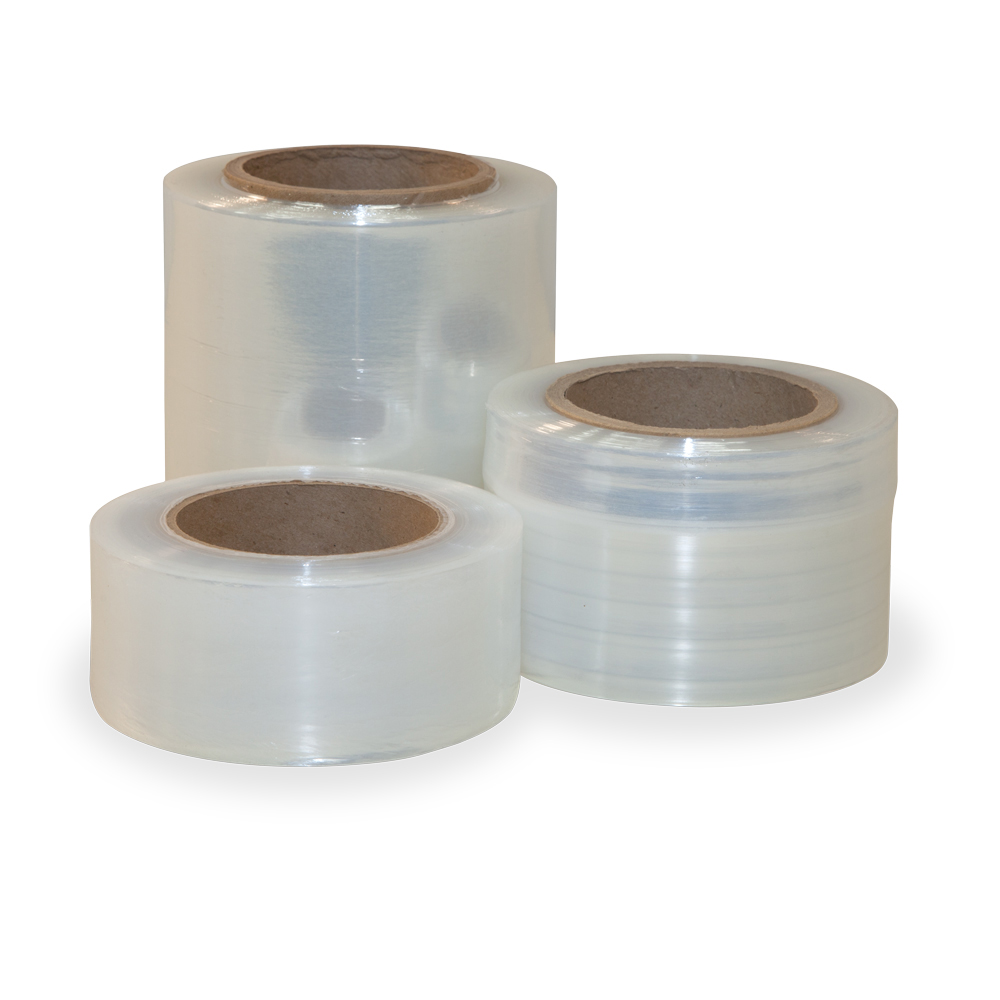 5 x 600 Clear 150 Gauge 12//Case Extended Core Bundling Film
