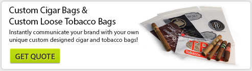 Custom Cigar Bags and Custom Tobacco Bags