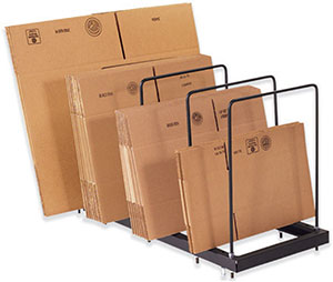Single Level Portable Corrugated Carton Stand