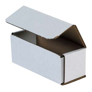 5x2x2 white corrugated mailers