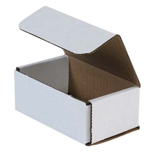 5x3x2 white corrugated mailers