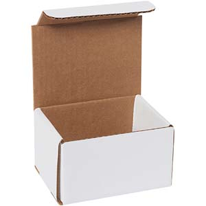 5x4x3 white corrugated mailers