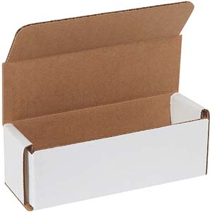 6x2x2 white corrugated mailers