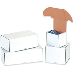 White Outside Tuck Mailers