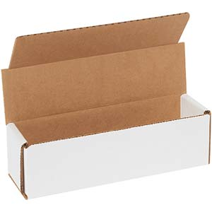 7x2x2 white corrugated mailers