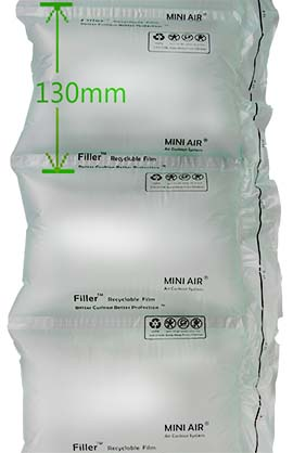 Image of 8 x 5 Filler Mini Air Clasi Film - 2296 ft roll - 1 roll/case