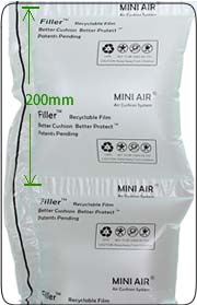 Image of 8 x 8 Filler Mini Air Clasi Film - 2296 ft roll - 1 roll/case