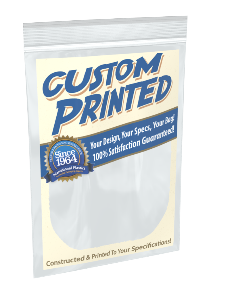Custom Size And Printed Reclosable Zip Locking Bags