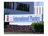 International Plastics Sign