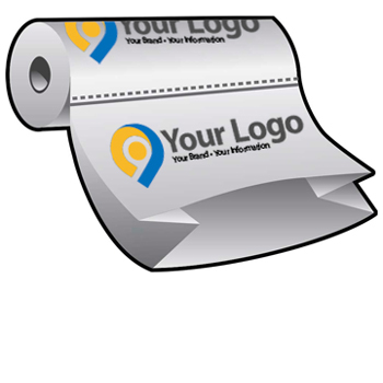 Gusseted Poly Bags on Rolls Custom Printed