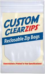 Custom ClearZip® Bags