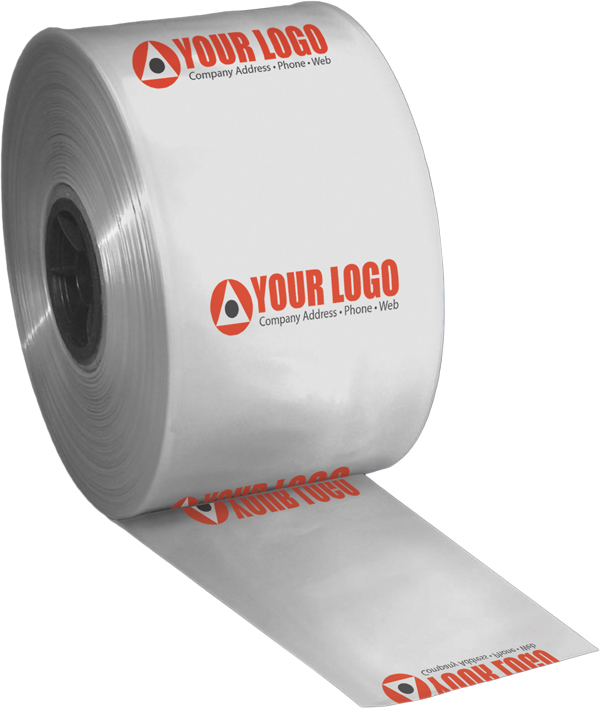 Custom printed poly tubing