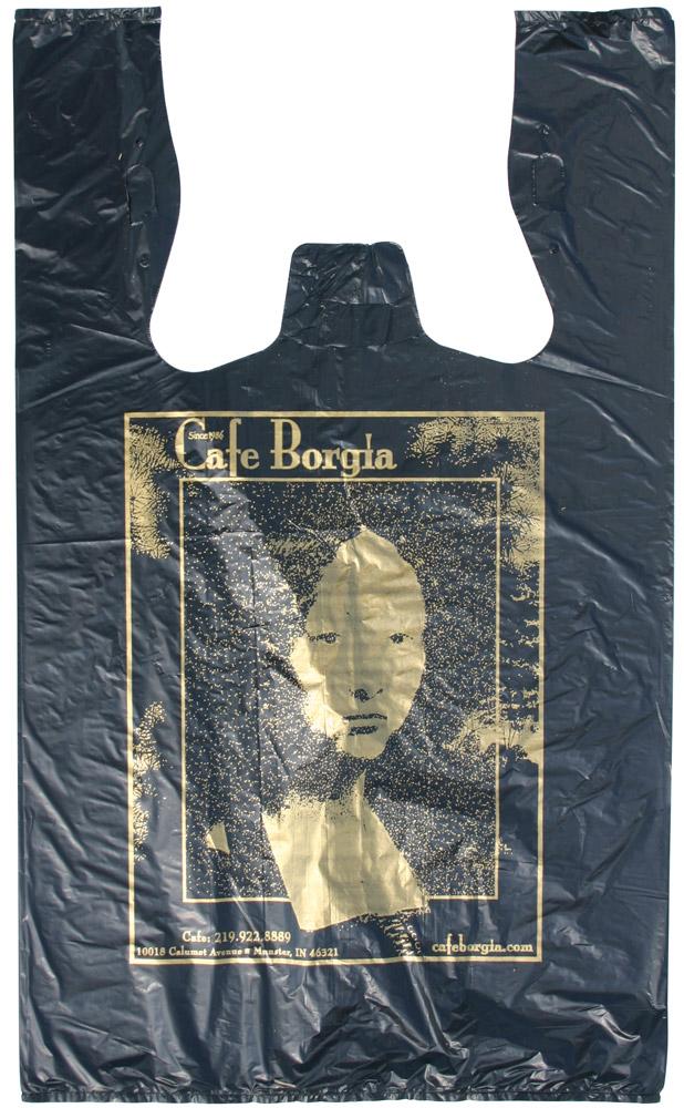 Custom Printed T Shirt Bags