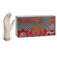 Gloveworks Heavy Duty Latex Gloves 8 mil - Extra Large