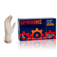 Gloveworks Premium Latex Gloves 5 mil - Extra Large