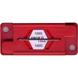 Drop-N-Tell 100G Non Resetting Heavy Products Damage Indicator