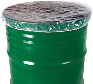 Antistatic Elastic Band Drum Cover for 30 Gallon Pail or Drum