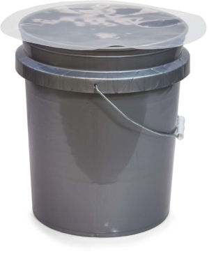 3 Gal Poly Disc Drum Lid Liners