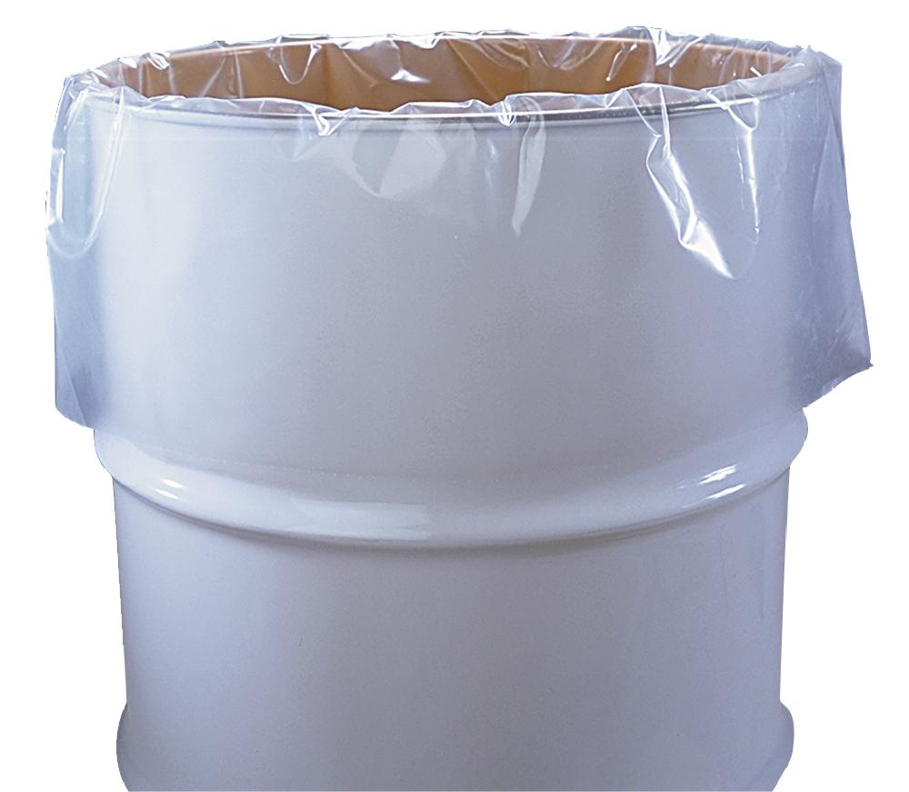 1 Liter Liner : Gallon mil plastic drum liner quot per roll