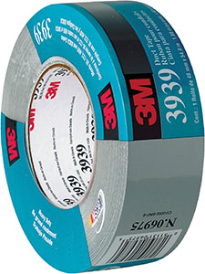 3M 3939 Silver Vinyl Duct Tape