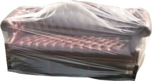 152x45 1Mil Plastic Furniture Cover - Large Plastic Bag
