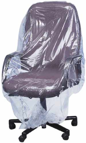 70x45 Plastic Furniture Cover - Large Plastic Bag