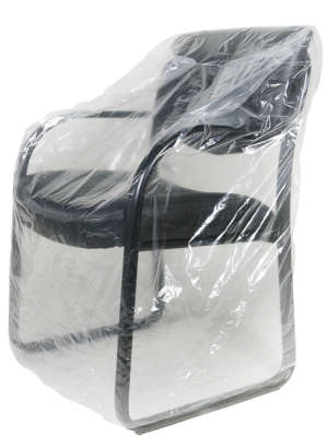 42 Inch Chair - 1Mil Plastic Furniture Cover Bag