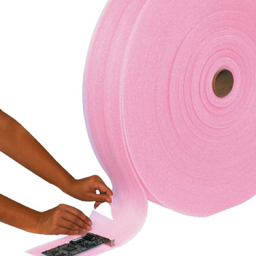 6 Quot X 250 Perforated Anti Static Packing Foam Rolls