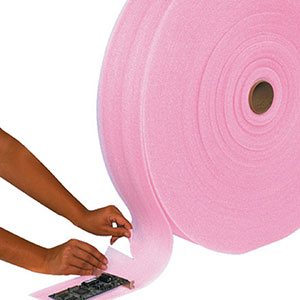 6 x 550 Perforated Anti-Static Foam Rolls