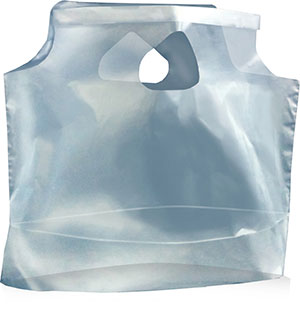 11 x 10 + 3.5 1 Mil Plastic Lunch Bags