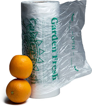 11 x 17 Produce Bags on a Roll 5 a Day for better health