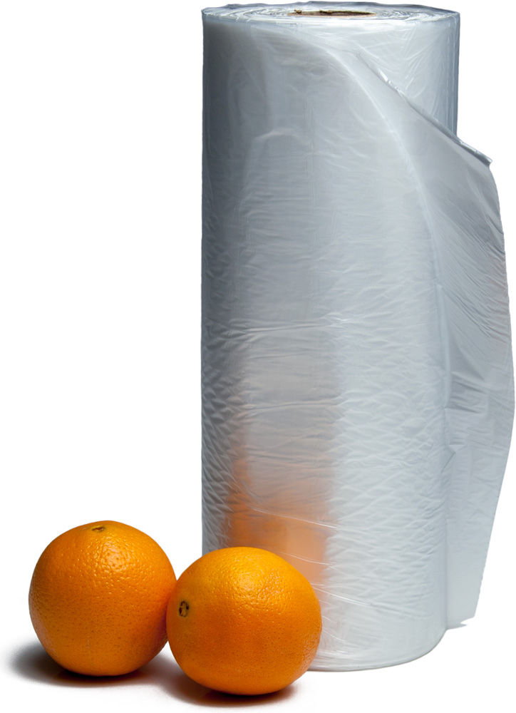 12 X 17 High Density Produce Bags On A Roll